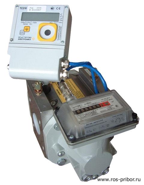 Комплекс для измерения количества газа СГ-ТК-Р-65 (RVG G40)